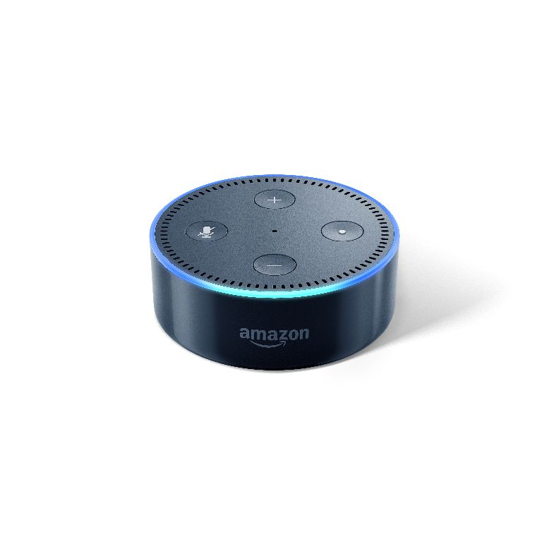 Echo Dot-Black, Back, On.jpg