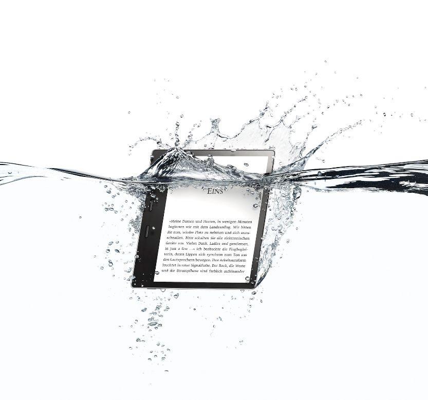 Wasserfester Kindle für Reisende
