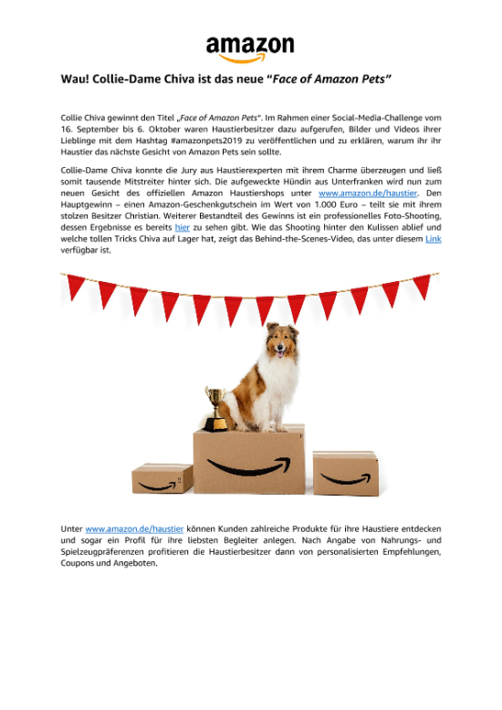 191108_Media_Alert_Face_of_Amazon_Pets_Winner