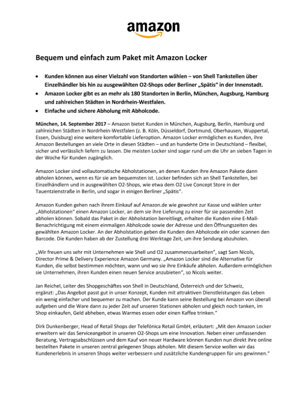 Amazon Newsroom Presskit