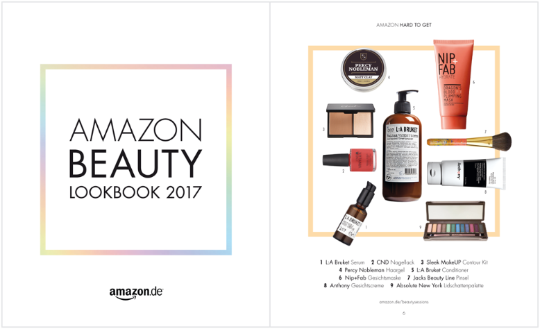 Amazon Beauty Lookbook 2017