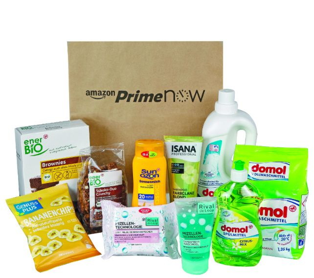2017-08-07 Amazon Prime Now und Rossmann