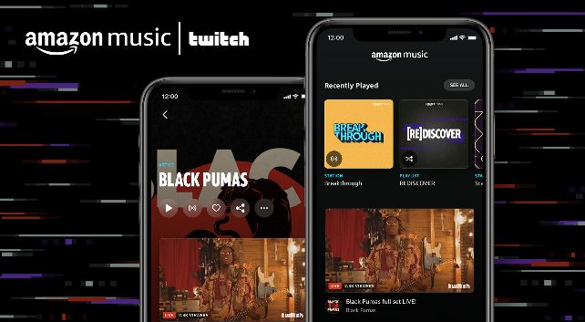Amazon Music Twitch Livestream