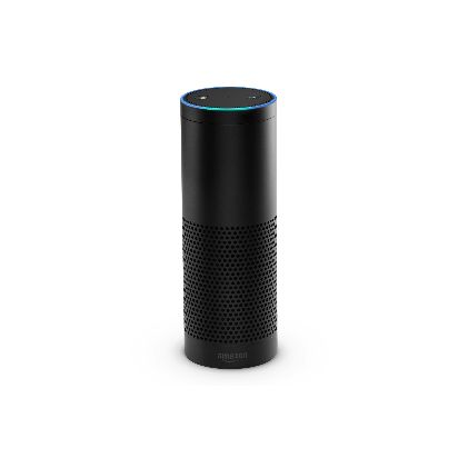 Amazon Echo - Black, Front, On.jpg