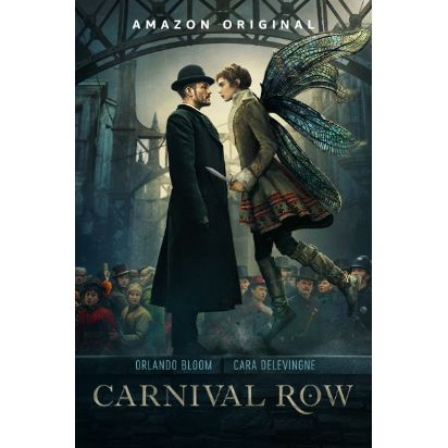 Amazon Prime Video zeigt ab 30. August exklusiv die Fantasiewelt von Carnival Row mit Orlando Bloom und Cara Delevingne