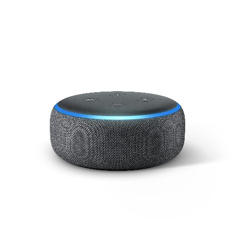 Echo Dot, Charcoal, Front On.jpg