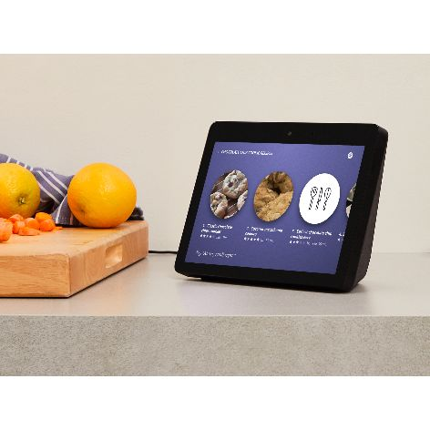 Echo Show, Black, Kitchen.jpg