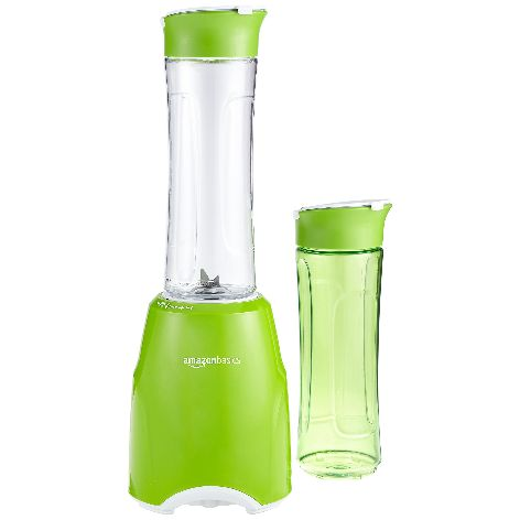 AmazonBasics Smoothie Mixer Mix & Go