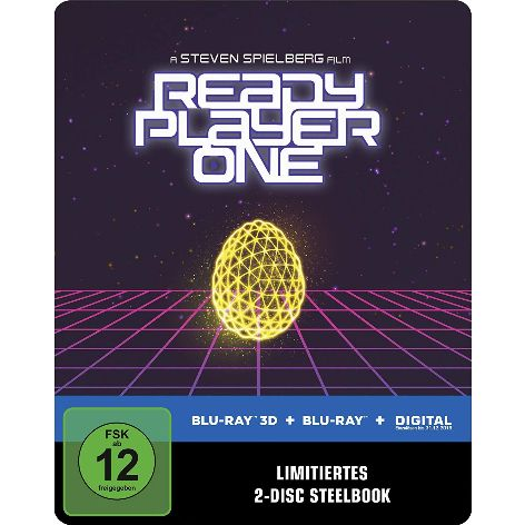 Ready Player One 3D Steelbook