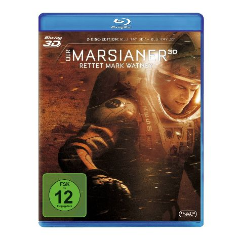 Der Marsianer – Rettet Mark Watney (Blu-Ray)