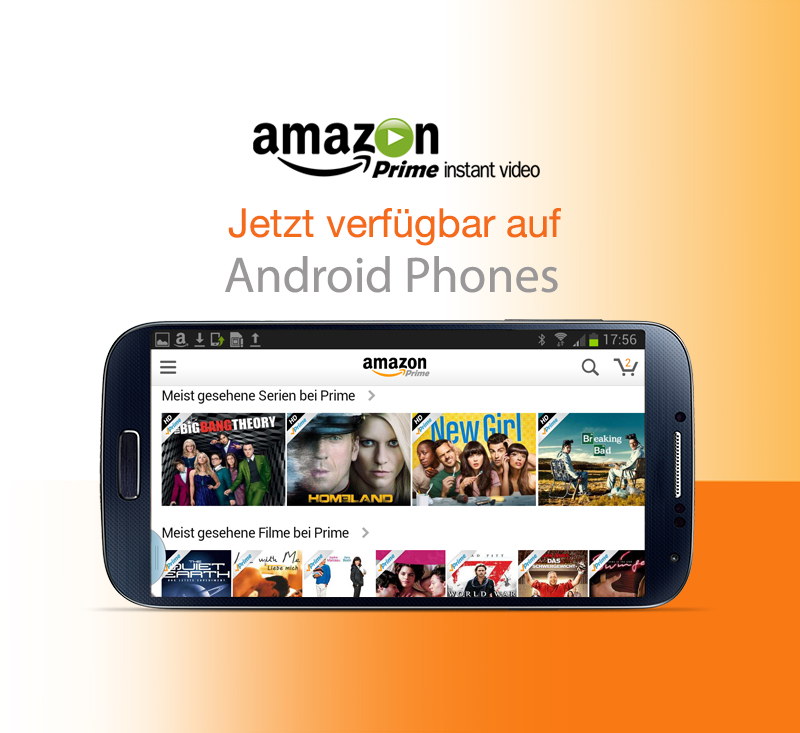 Amazon Newsroom Prime Instant Video Ab Sofort Auf Android