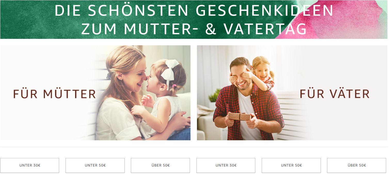 Amazon Newsroom - Kreative Geschenkideen für Mama und Papa im ...